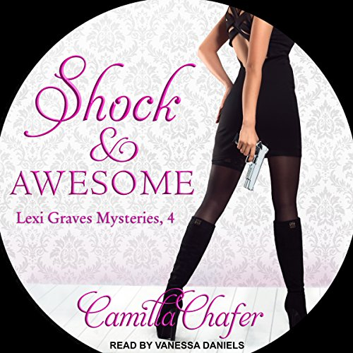 Shock and Awesome audiobook cover art