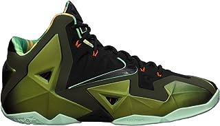 Nike Lebron XI King's Pride Men's Basketball Shoes - Parachute Gold/Arctic Green/Dark Loden/Black