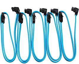 """Electronic Module SATA 3.0 Cable SATA3 III 6GB/s Right Angle 90 Degree HDD Hard Drive Converter Cable 5 x 18"""""""