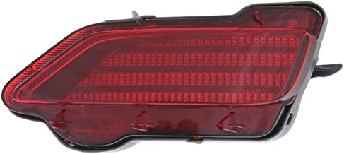Bumper Reflector Rear Light Lamp Right Side Compatible with Toyota RAV-4 13-15