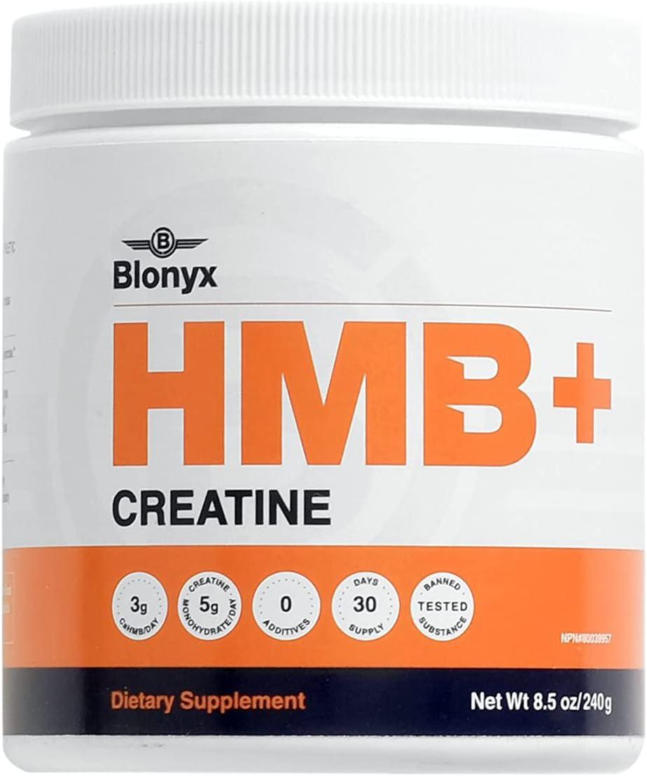 Blonyx HMB+Creatine - Improves Strength Large discharge sale Body Power Mass Lean Wholesale