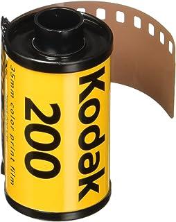Kodak Gold 36 exposiciones pack de 3 - Película negativa en color de velocidad media color amarillo.
