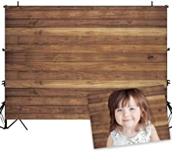 Allenjoy 7x5ft Vinyl Wood Backdrop for Photography Rustic Natural Wooden Floor Photo Background Newborn Baby Photoshoot Portrait Studio Props Birthday Party Banner