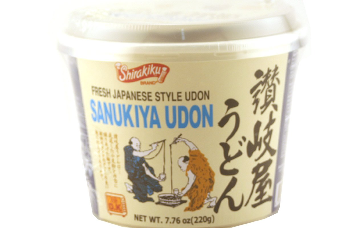 Large discharge sale quality assurance Shirakiku Instant Noodle Udon Sanukiya Soup in Cup 7.76
