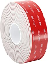3M VHB Tape 5962Permanent Bonding Tape Roll- 0.75in. x 15ft. Conformable Black Foam with Acrylic Adhesive.