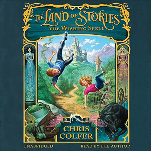 The Land of Stories audiobook cover art