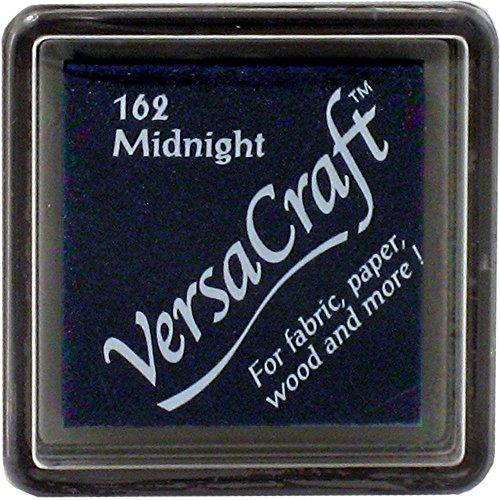 Versacraft VKS-162 Stoffstempel, Kleiner Würfel, 25 x 25 mm, Minuit