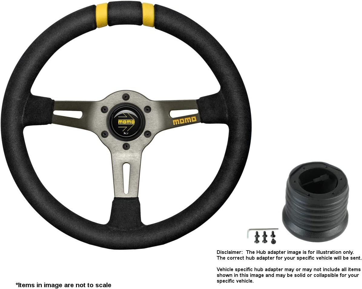 specialty shop MOMO MOD.DRIFT 330mm 12.99 Inches Memphis Mall w Wheel Suede Brush Steering