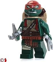 LEGO TMNT Teenage Mutant Ninja Turtles Minifigure - Raphael (with Two Sai's) 79116
