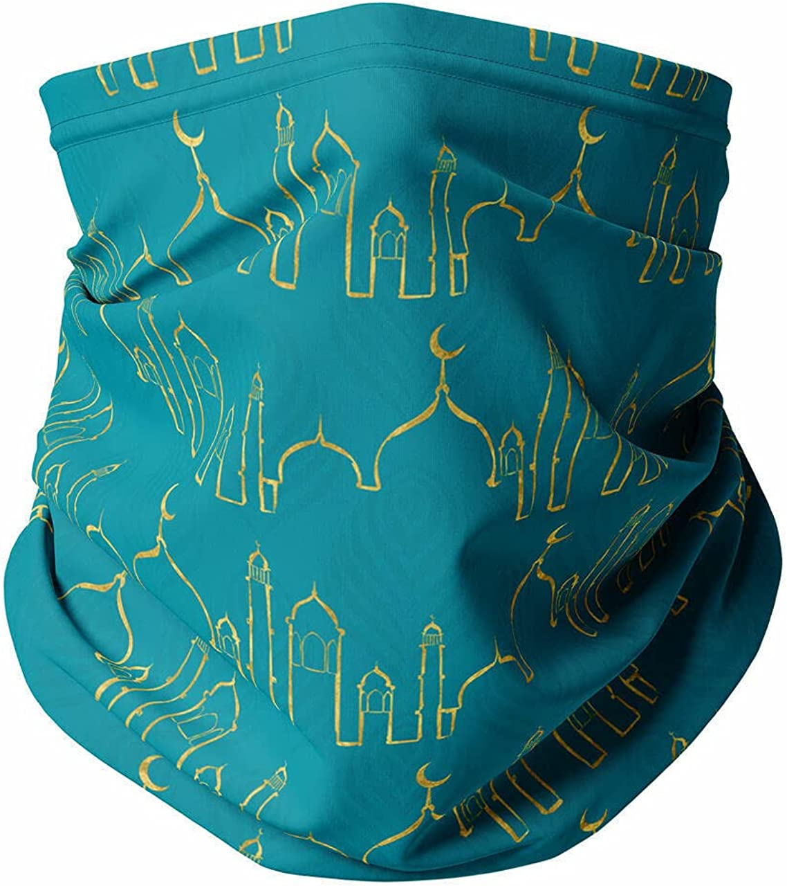 Neck Gaiter Face Covering - Arabian Nights in Agrabah Aladdin Inspired