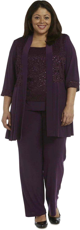 Great interest RM Richards Women's Plus Pant Set Size Popularity Lace