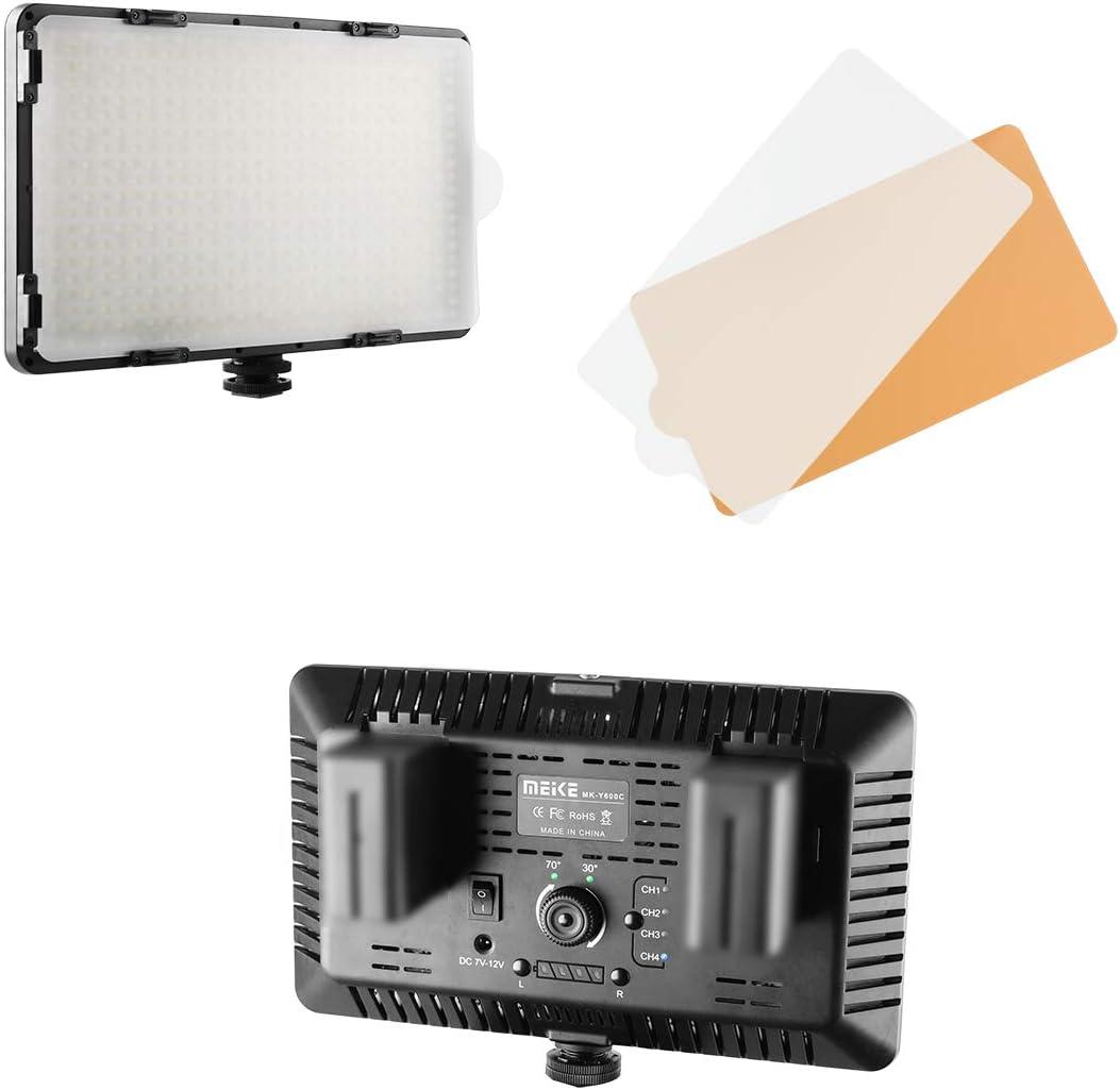 Meike MK-Y400C 400 LED Dimmable 4 years warranty Ultra Large-scale sale High Power C Panel Digital