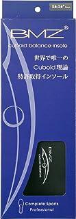BMZ(ビーエムゼット) 「Cuboid balance理論」モデル コンプリートスポーツ 3mm BM-K015 ブラック 26.0-26.5cm