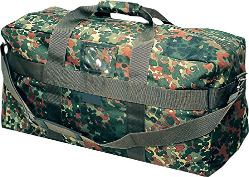 Commando Industries US Army Airforce Bag Große Sport- und Reisetasche 57L (Flecktarn)