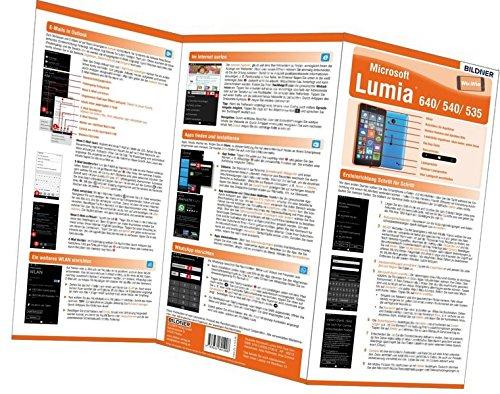Microsoft Lumia 640 / 540 / 535 - die fehlende Anleitung!: Alles auf einen Blick. Leicht verständlich erklärt (Wo&Wie / Die schnelle Hilfe)