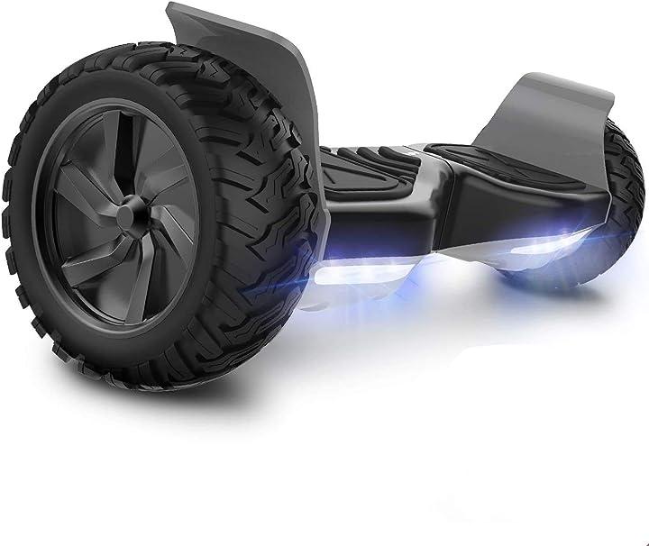 Hoverboards geekme con potente motore led luci bluetooth per adulti e bambini. 8 5 pollici B07L4CNHHQ