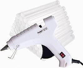 ApTechDeals APT-W4025 PVC 40 W Hot Melt Glue with 25 Hot Melt Glue Sticks (White)