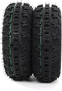 2PCS ATV UTV Sport Tubeless Tire 21x7-10 Front Left Right 4ply LRB For Kawasaki Yamaha Raptor Banshee Honda 400ex 450r 660 700 400 450 350 250 Load Range B