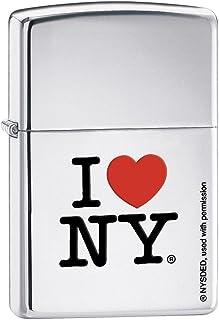 Zippo I NY Silver Pocket Lighter