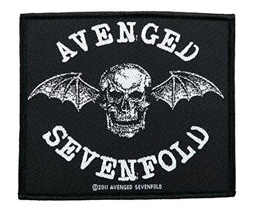Avenged Sevenfold Aufnäher - Death Bat Patch - Gewebt & Lizenziert !!