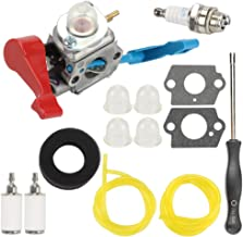 C1U-W12A Carburetor for Poulan FL1500 FL1500LE Leaf Blower C1U-W12B 530071629 with Air Filter Repower Kit