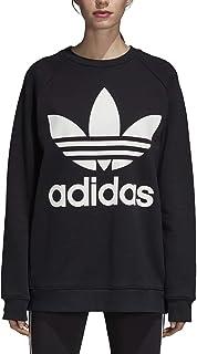 adidas Women's DH3129 Oversized Sweatshirt, Black, 32