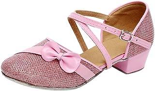 2511830e216d24 Moonuy Toddler Filles Chaussures Bébé Enfants Célibataire Parti Princesse  Danse dans La Salle De Bal Tango