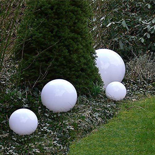 3 x LED Solarkugel Marla Solarleuchte Gartenleuchte mit Erdspieß, Durchmesser 20+20+30 cm Solarleuchte Kugelleuchte Gartenkugel