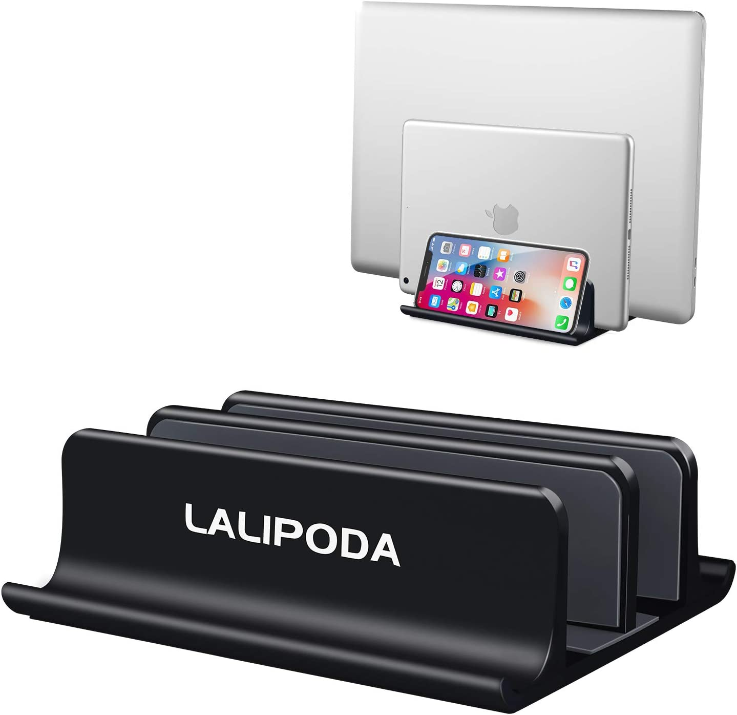 Clearance SALE! Limited time! Vertical Laptop Stand Double Holder Desktop with Ranking TOP14 Adjustabl
