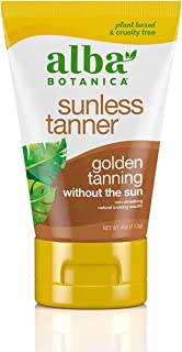 Alba Botanica Sunless Tanner Lotion, 4 oz.