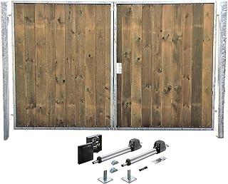Amazon.es: puertas jardin madera - Puertas / Cubiertas y vallas: Jardín