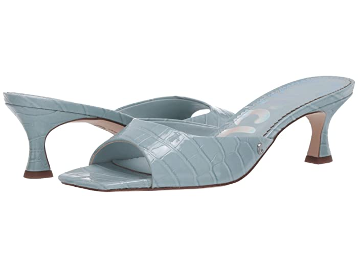 1960s – 1970s Lingerie & Nightgowns Circus by Sam Edelman Jodi Powder Blue Exotic Croco Patent Womens Shoes $47.58 AT vintagedancer.com