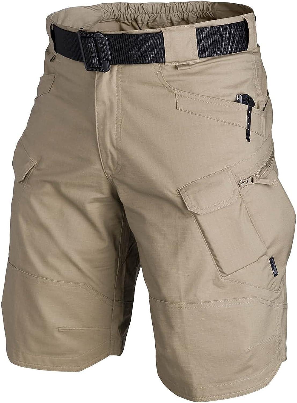 Xiakolaka 2021 Upgraded Waterproof Relaxed Fit Tactical Shorts f