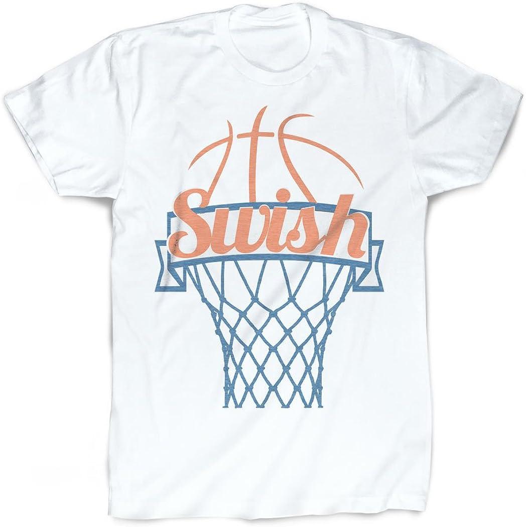 ChalkTalkSPORTS Low price Swish T-Shirt Vintage Over item handling Faded Basketball