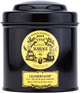 Mariage Freres, CHANDERNAGOR CHAÏ - Black tea Indian imperial spices