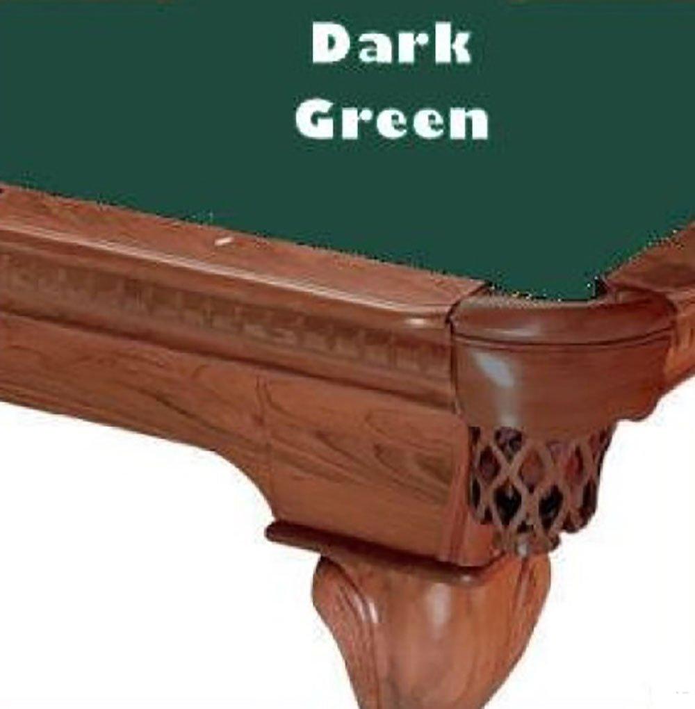 8 verde oscuro Proline clásico 303 billar mesa de billar paño ...