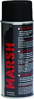 Marsh STSBLK Spray Stencil Ink, Black (Pack of 12)