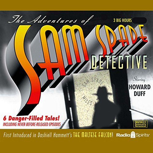 The Adventures of Sam Spade, Detective audiobook cover art