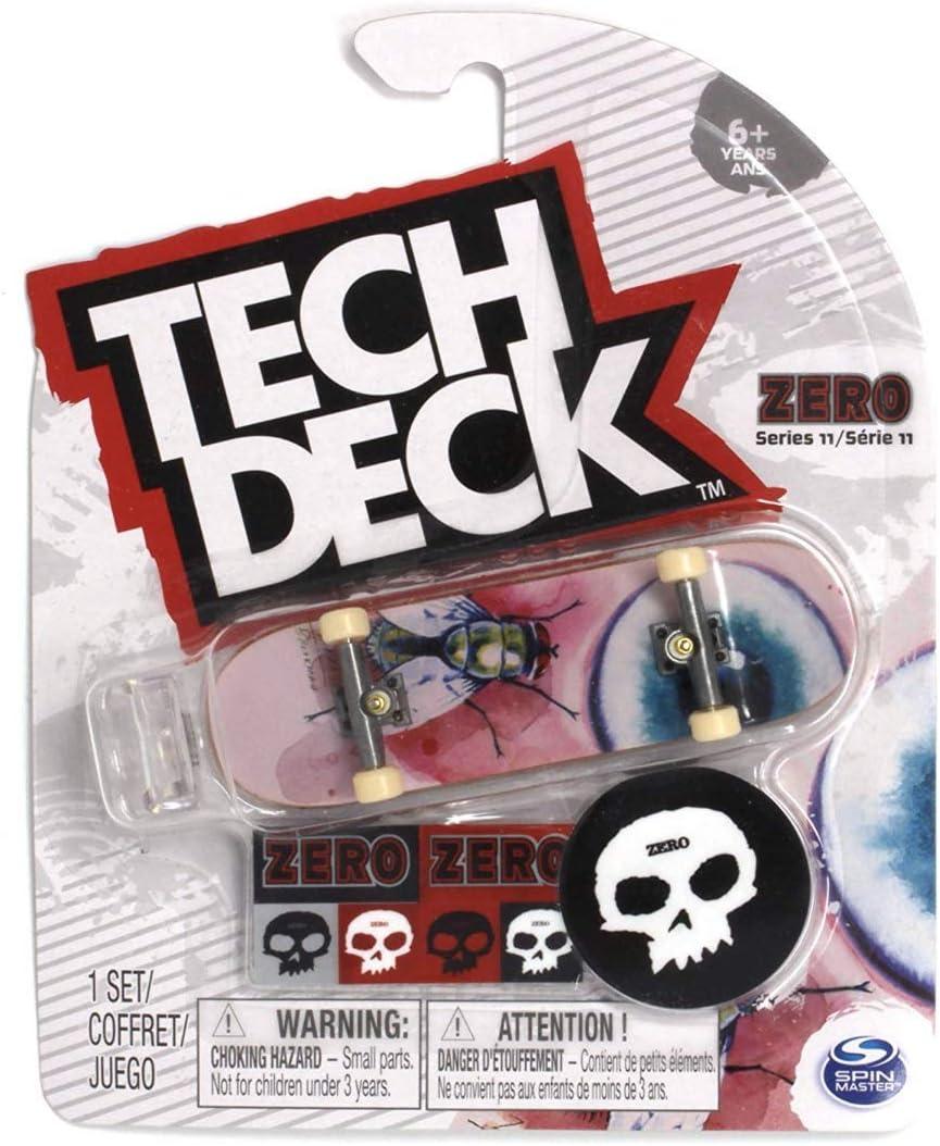 Zero James Brockman Tech-Deck 96mm Fingerboards Series 11 Complete Skateboard 12 varities