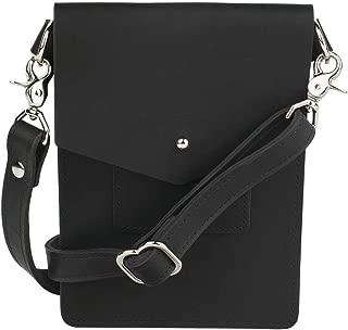 Ballard Mini Crossbody Bag, Full-grain Leather (Midnight)