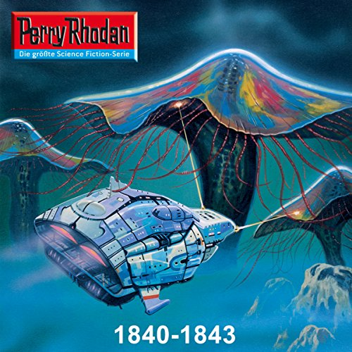Edition Thoregon: Perry Rhodan 1840-1843 Titelbild