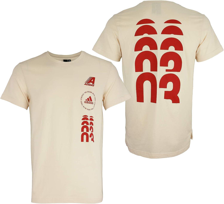 adidas Men's Hyperstack Bargain sale T-Shirt Some reservation Graphic