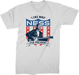 King's Road Mike Ness Men's Presidential Slim-Fit T-Shirt White