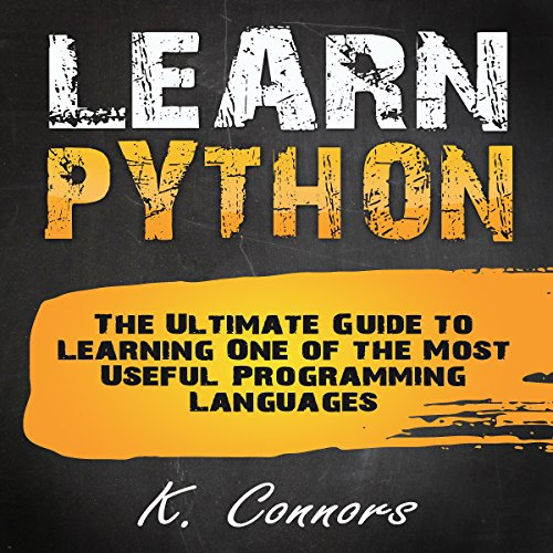 Learn Python audiobook cover art