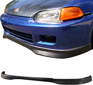 M-Spec Style Front Bumper Lip For Honda Civic 1992-1995 Sedan PULIps HDCV924MUFAD