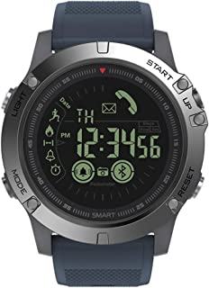 Axiba BT4.0 Sports Smart Watch IP67 Waterproof Smart Wrist Band Fitness Tracker Pedometer Remote Camera Call Reminders Wristwatches Compatible for iOS and Android