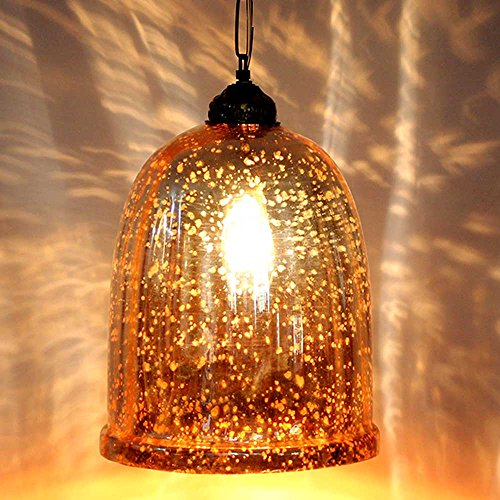 IndianShelf Handmade Decorative Yellow Antique U Shaped Glass Chandelier Celling Lamp Indian Online