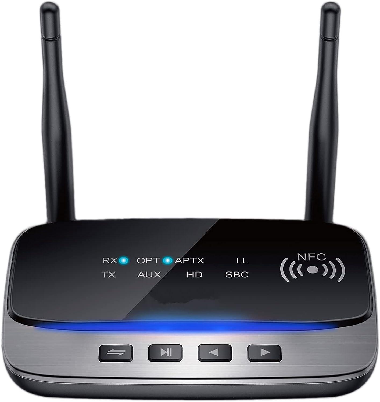 Mail order cheap Ranking TOP9 RSGK Bluetooth 5.0 Audio Transmitter LL Receiver HD AptX Bypass