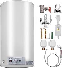 FlowerW Elektrische boiler, 1 kW/2 kW, 40 liter, temperatuurinstelling, 30-75 graden Celsius, 0,7 MPA, waterdruk, met tan...
