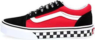 Vans Kids Logo Pop Old Skool Boy's Skate Shoes